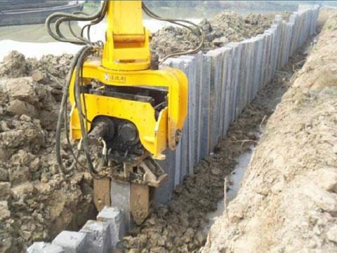 挖掘机液压振动锤 1