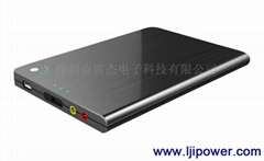 Ultrathin laptop mobile power supply