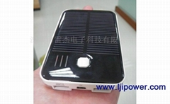 Double USB solar charger