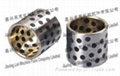 Casting bronze steel bushing with