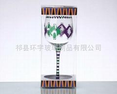 PVC彩盒包裝玻璃杯