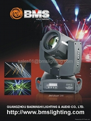 200W Beam Sharpy Moving Head Light