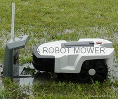 Robotic lawn mower with 16Ah Li-battery-L600p