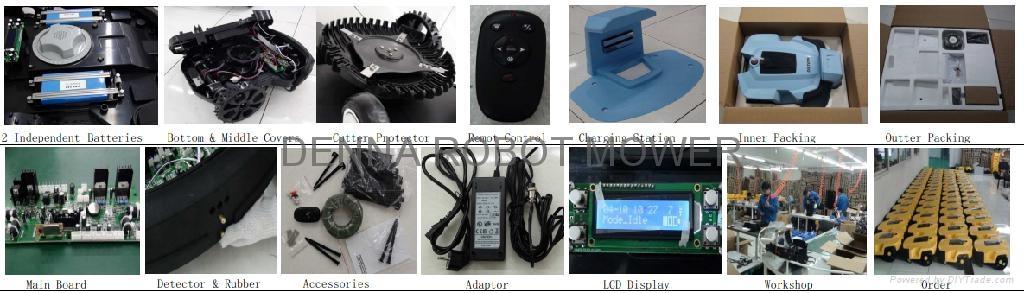 16Ah锂电机器人割草机/ 智能割草机器人 2