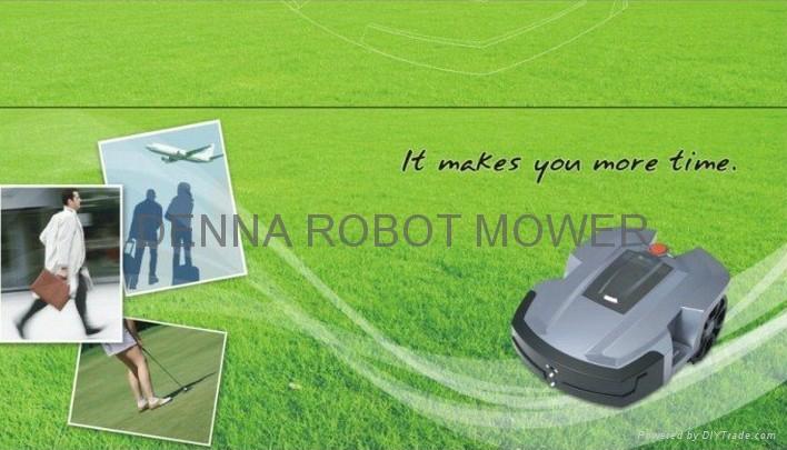 16Ah锂电机器人割草机/ 智能割草机器人 5