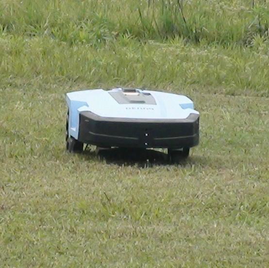 锂电池遥控割草机 3