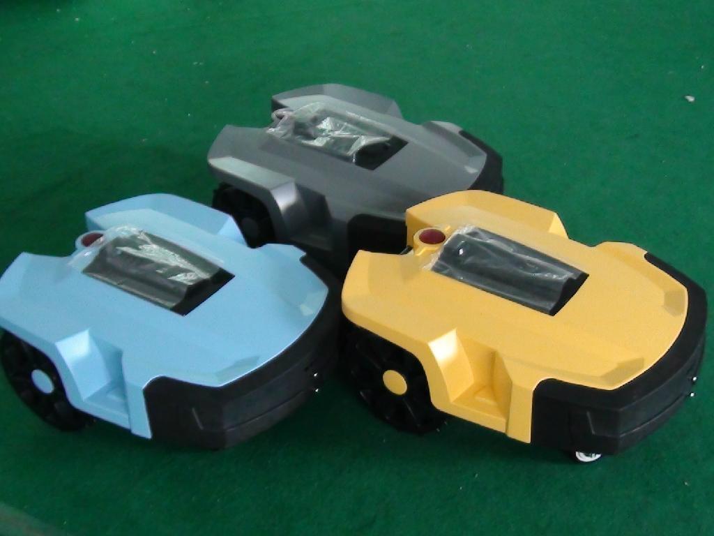 锂电池遥控割草机 5
