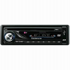 Car Detachable Panel DVD Player With MP4