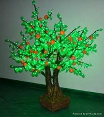 LED tree light- artificial  orange bonsai tree lights