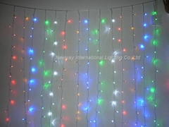 LED Icicle Lights for Christmas  Holiday Decoration