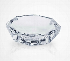 Lotus Wash and Bright Sunshine  Crystal  Craft Ashtray