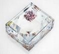 Inca-Rose  Crystal  Candy Box
