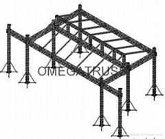 aluminum truss system