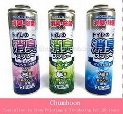 Aerosol Tin Can For Deodorant