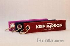 Woolen key ring straps
