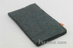 Woolen Felt Mobile phone cases iPhone sleeves