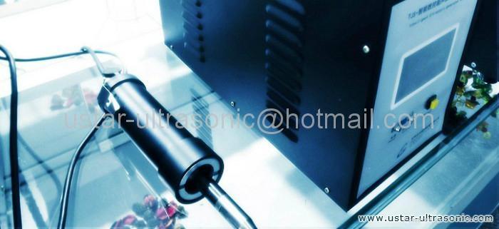 Ultrasonic portable welding machine, hand welding stress relief  machine 1