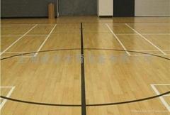 體育球館f楓木運動地板