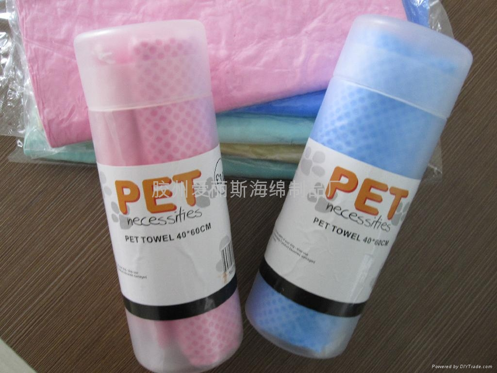 pet shower towelpet bath towel 3
