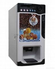 三冷三热投币咖啡机