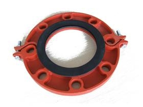 pipe fitting grooved flange coupling - 009 - 100tong (China