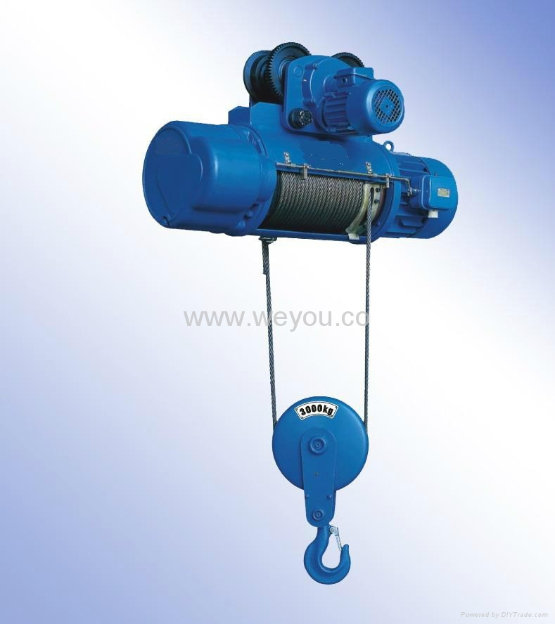 Electric wire rope hoist - CD1 MD1 - weyou (China Manufacturer ...