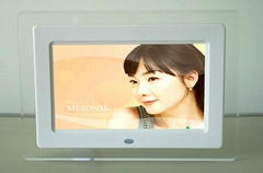7 inch multi function digital photo frame (7 -15 inch for option)