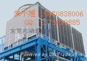 东莞纳金工业型玻璃钢方形冷却塔