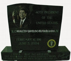 Granite Monument Headstone