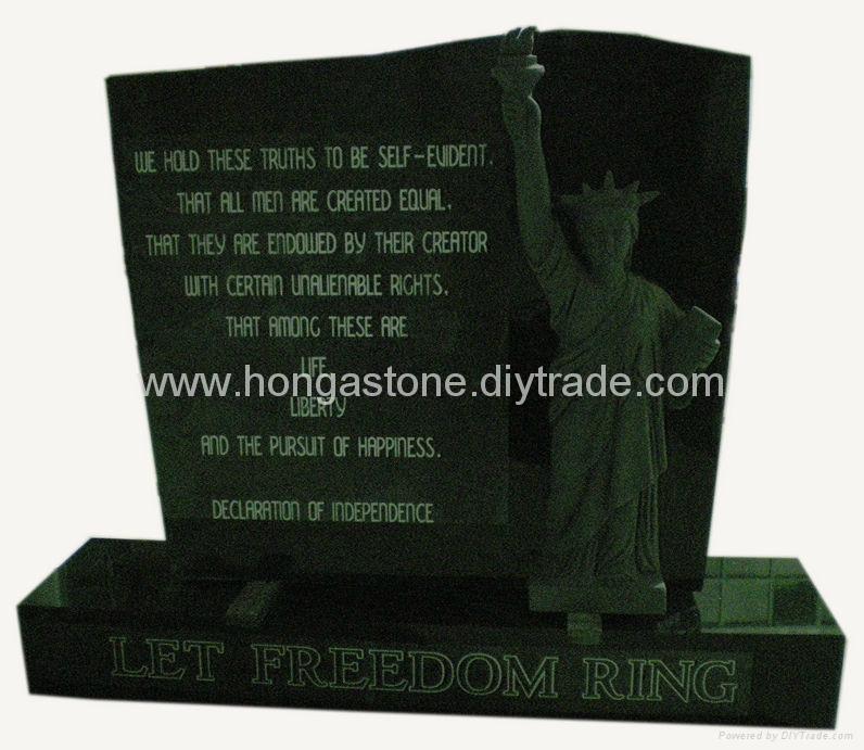 Granite Monument Headstone 2