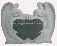 Granite Angel Tombstone