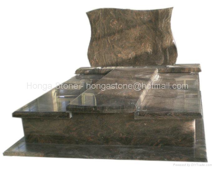 Granite Monument and Tombstone / Ggravestone / Headstone 1