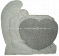 Granite Monument and Tombstone / Ggravestone / Angel Headstone / Memorial Stone 1