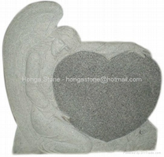 Granite Monument and Tombstone / Ggravestone / Angel Headstone / Memorial Stone
