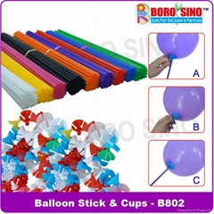 Balloon Stick and Cups