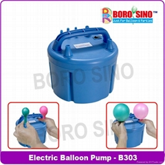 Three nozzles Electric balloon pump
