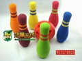 EVA foam bowling toy/mini bowling toy for kids
