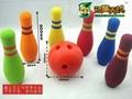 EVA foam bowling toy/mini bowling toy for kids