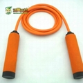 Rubber/plastic safe rope skipping for kids and ladies