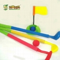 plastic golf club toy/promotion toys/plastic toys