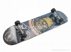 ZY custom skateboard completes