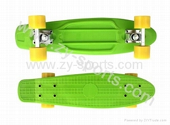 Penny crusier completes- plastic skate board