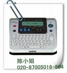 广州市盈标 兄弟标签机 标签机PT-1280 打印机
