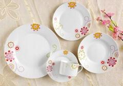 porcelain dinner set