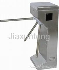 Waist height  tripod turnstile