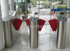 intelligent flap barrier