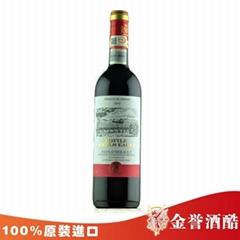 法国罗菲尔威鹰干红葡萄酒