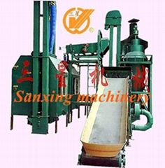 High efficience waste printed circuit board recycling machine