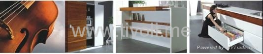 kitchen cabinets-high glossy, bright and durable 5