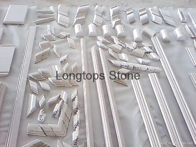 Marble One Double Step Chair Rail Trim Moulding 2